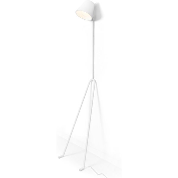 Design House Stockholm Manana vloerlamp wit (special edition)