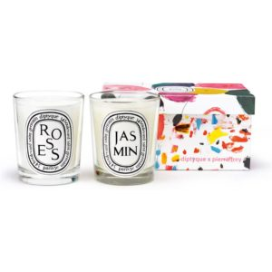 diptyque Roses & Jasmin Limited Edition Duo Set geurkaars set van 2