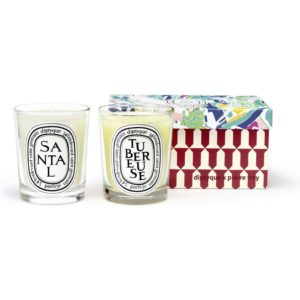 diptyque Tubéreuse & Santal Limited Edition Duo Set geurkaars set van 2