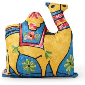 Doing Goods Camel sierkussen 33 x 28 cm