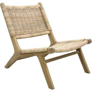 HKliving Rattan Lounge fauteuil