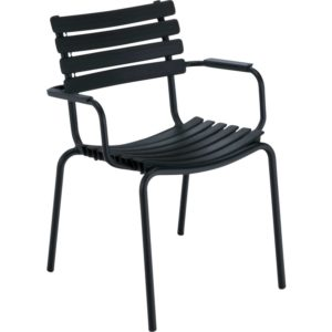 Houe Clips Armchair tuinstoel black set van 2