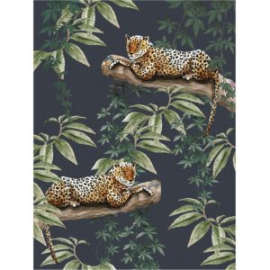 IXXI Chilling in the Jungle wanddecoratie 120 x 160 cm