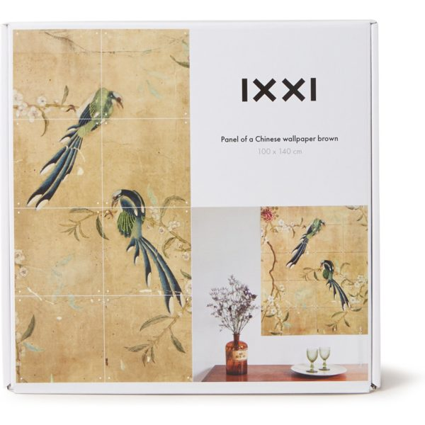 IXXI Detail from a Chinese wallpaper wanddecoratie 140 x 100 cm