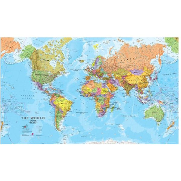 IXXI World Map wanddecoratie