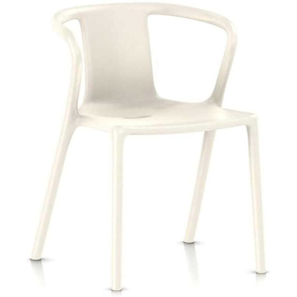 Magis Air-Armchair tuinstoel wit set van 4