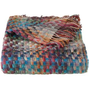 Missoni Home Husky plaid van wol