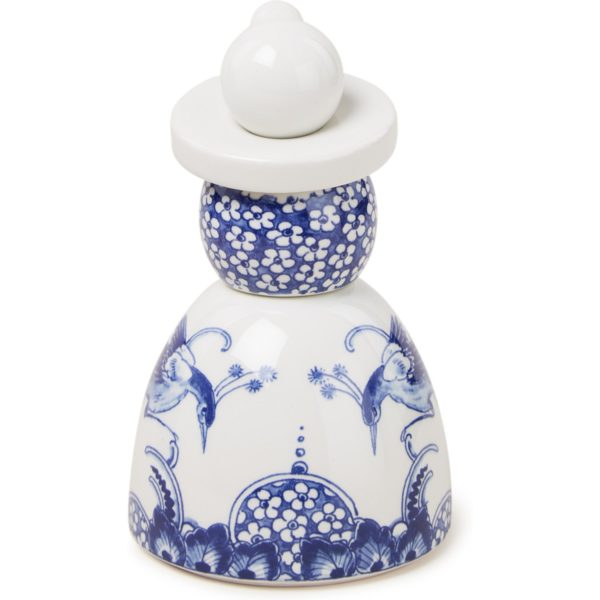 Royal Delft Proud Mary 01 Flower Peacocks ornament 14