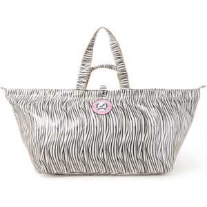 All-Time Favourites Zebra shopper groot van katoen met coating