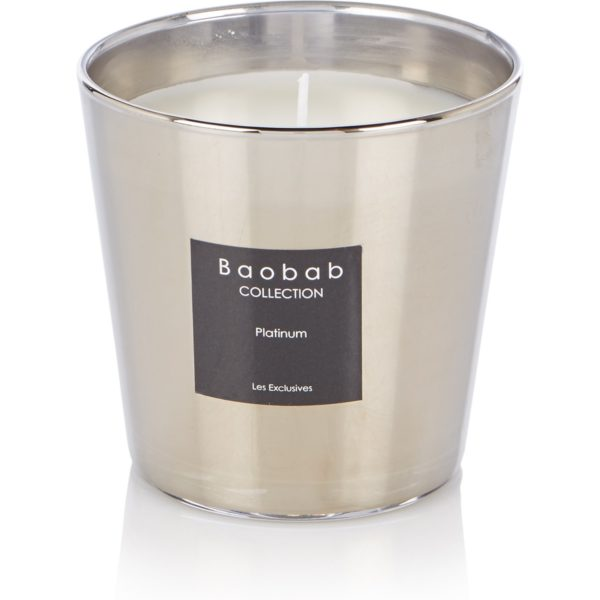 Baobab Collection Platinum geurkaars