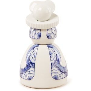 Royal Delft Proud Mary 05 Ribbon Flower ornament 14