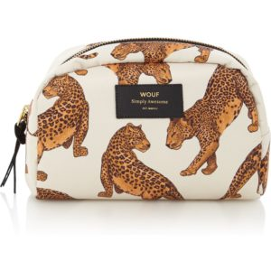 Wouf Leopard Big Beauty toilettas met dessin