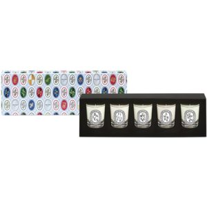 diptyque Lucky Charms Limited Edition mini geurkaars set van 5