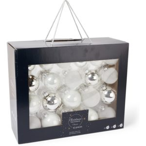 Decoris Kerstbal set van 42