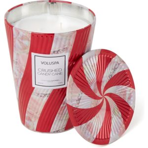 Voluspa Crushed Candy Cane Limited Edition geurkaars