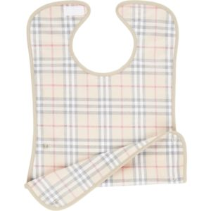 BURBERRY Bib slab met ruitdessin en coating