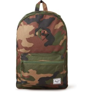 Herschel Supply Woodland rugzak met 13