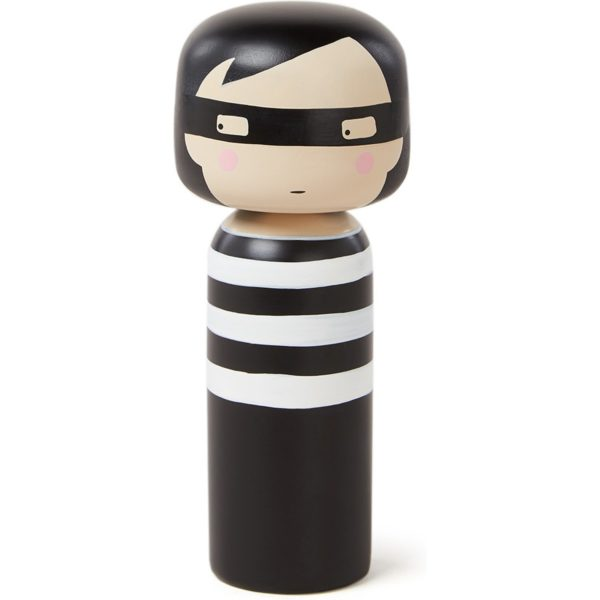 Lucie Kaas Thief Kokeshi Doll 14