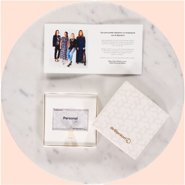 Online Personal Styling Cadeaucard