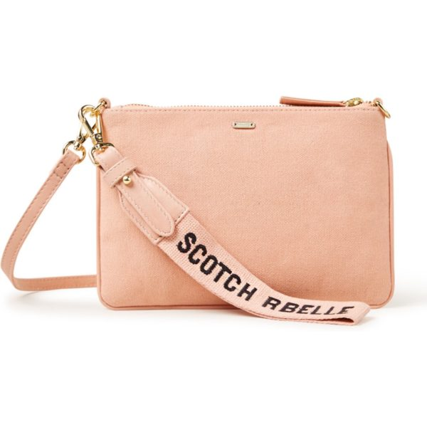 Scotch R'Belle Clutch van leer en canvas