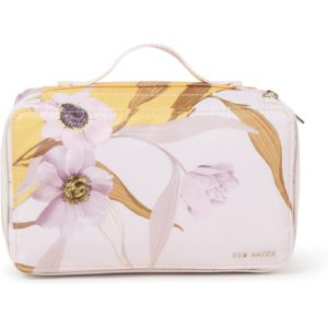 Ted Baker Earline toilettas met bloemenpatroon