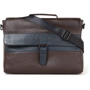 Ted Baker Bocelli businesstas van leer