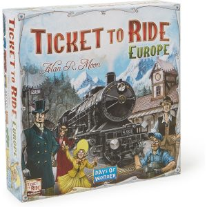 Asmodee Ticket to ride Europa bordspel